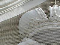 Taubennetz aus Perlondraht